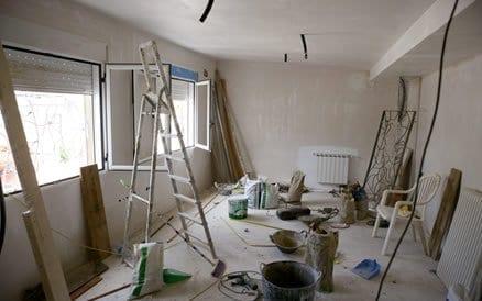 Bij een verbouwing behoort schilderen tot het zogenaamde afwerken.
